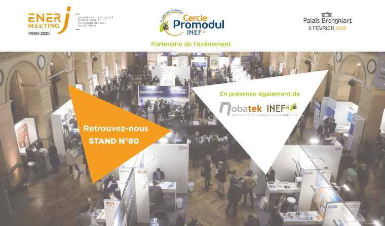 [SAVE THE DATE] Retrouvez-nous au salon EnerJ-Meeting 2020 !